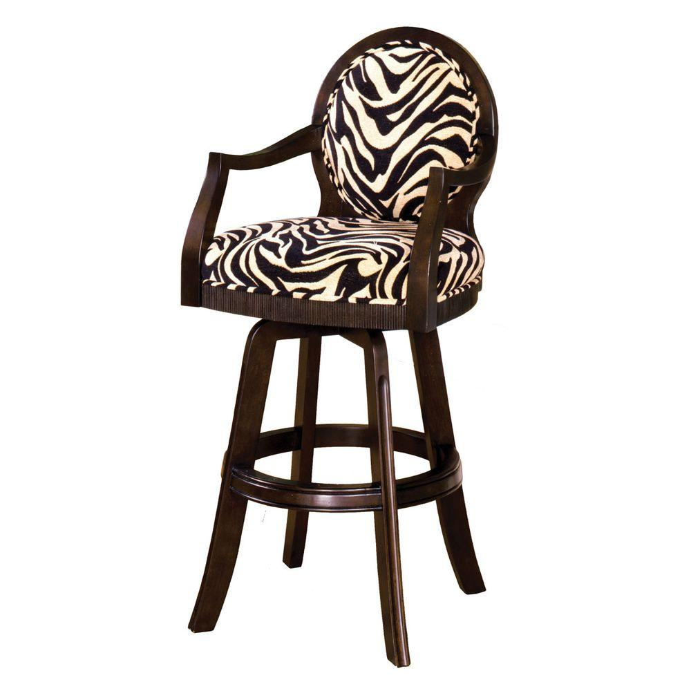 Home Decorators Collection Angus Swivel Bar Stool-DISCONTINUED