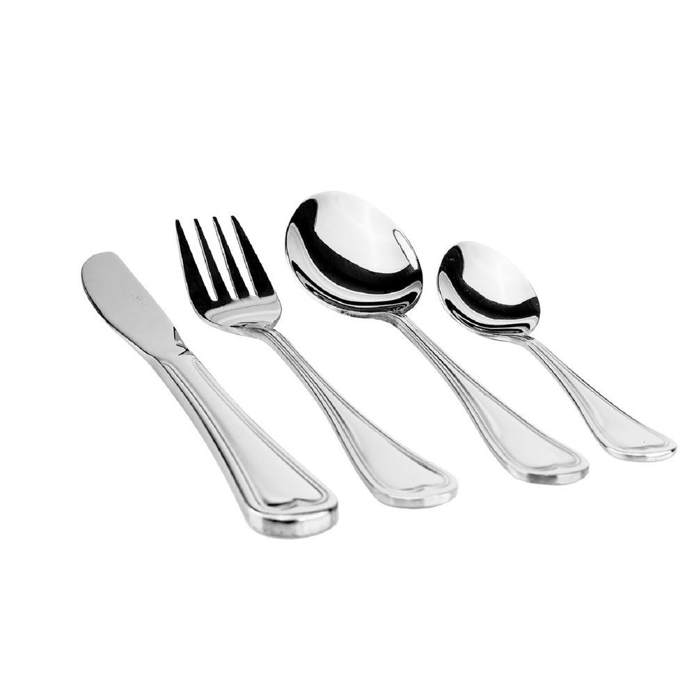 Cordoba 114-Pieces Stainless Steel Flatware Set