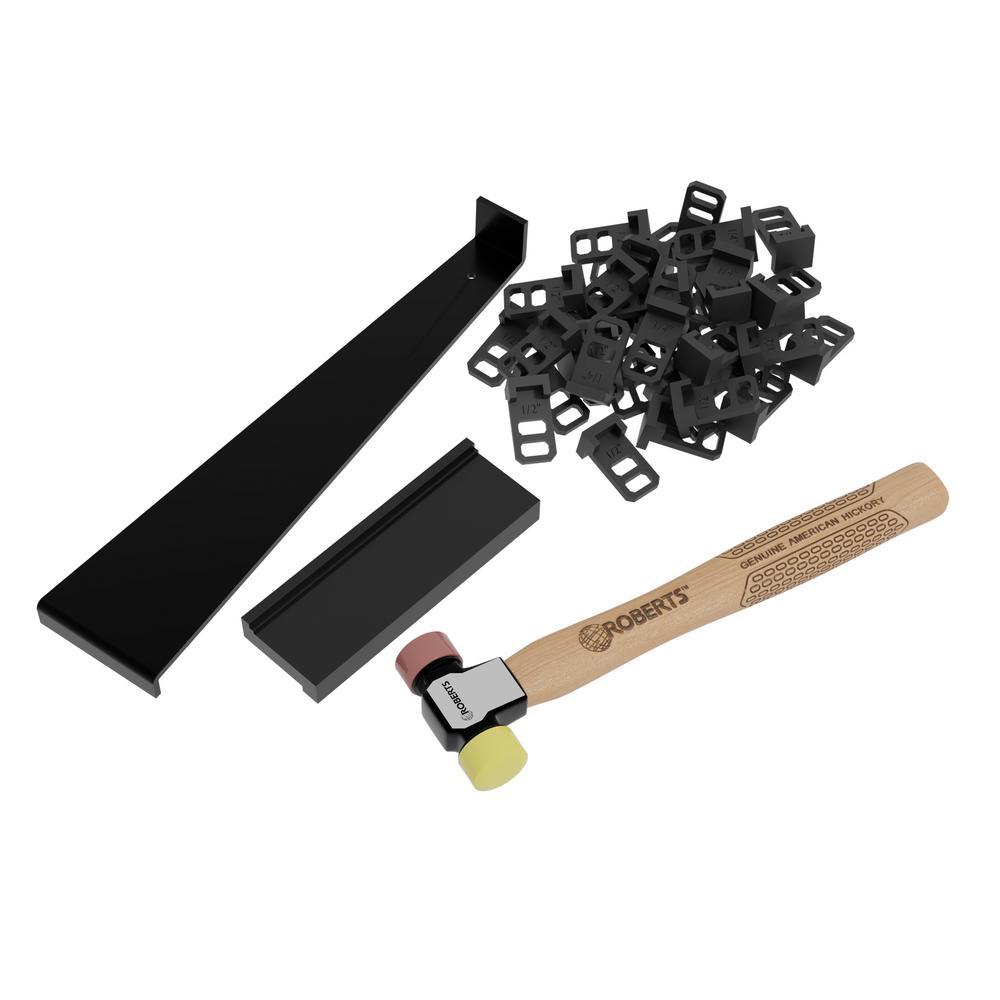 Pro Flooring Installation Kit for Vinyl, Laminate and Hardwood Flooring