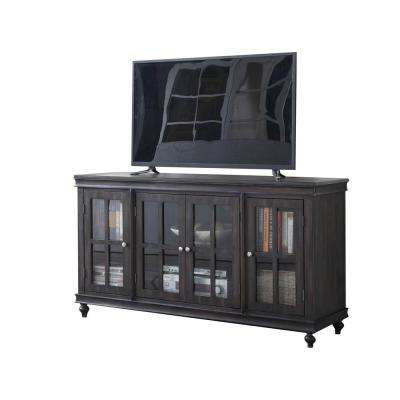 Aptos Distressed Gray TV Stand