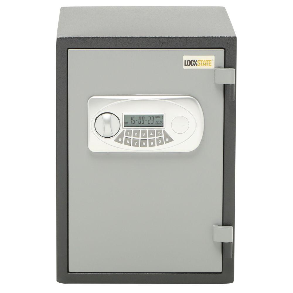 LockState 1 Hour Safe .6 cu. ft. Fire-Resistant Electronic Safe
