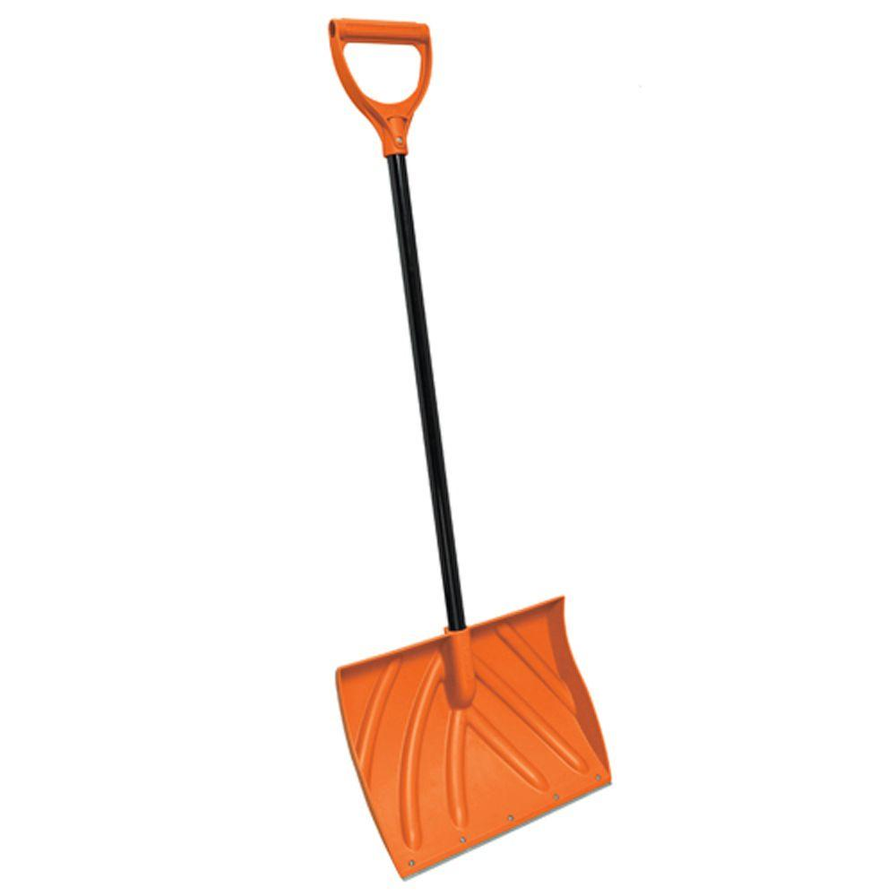 18 in. Snow Shovel with Metal Edge