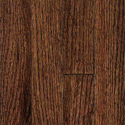 Oak Bourbon Solid Hardwood Flooring - 5 in. x 7 in. Take Home Sample