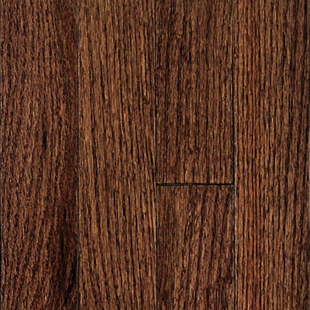 Oak Bourbon Solid Hardwood Flooring - 5 in. x 7 in. Take Home Sample