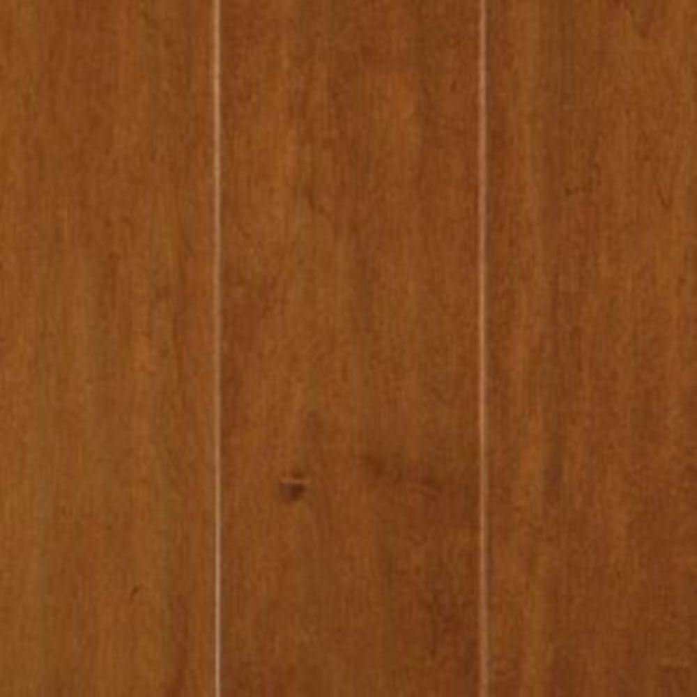 Mohawk Take Home Sample - Light Amber Maple Engineered Hardwood Flooring - 5 in. x 7 in.
