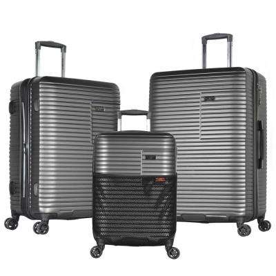 TAURUS 3-Piece PC/ABS Expandable Hardcase Spinner Set with TSA Lock