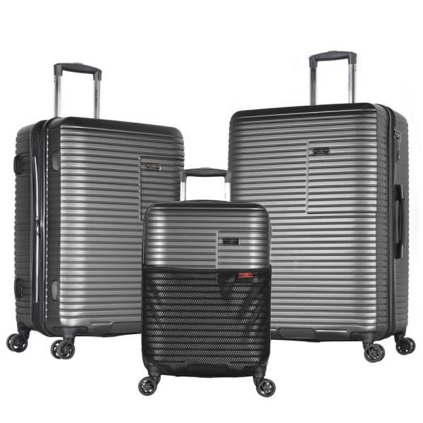 26e0dd0c6 Olympia USA TAURUS 3-Piece PC/ABS Expandable Hardcase Spinner Set with TSA  Lock