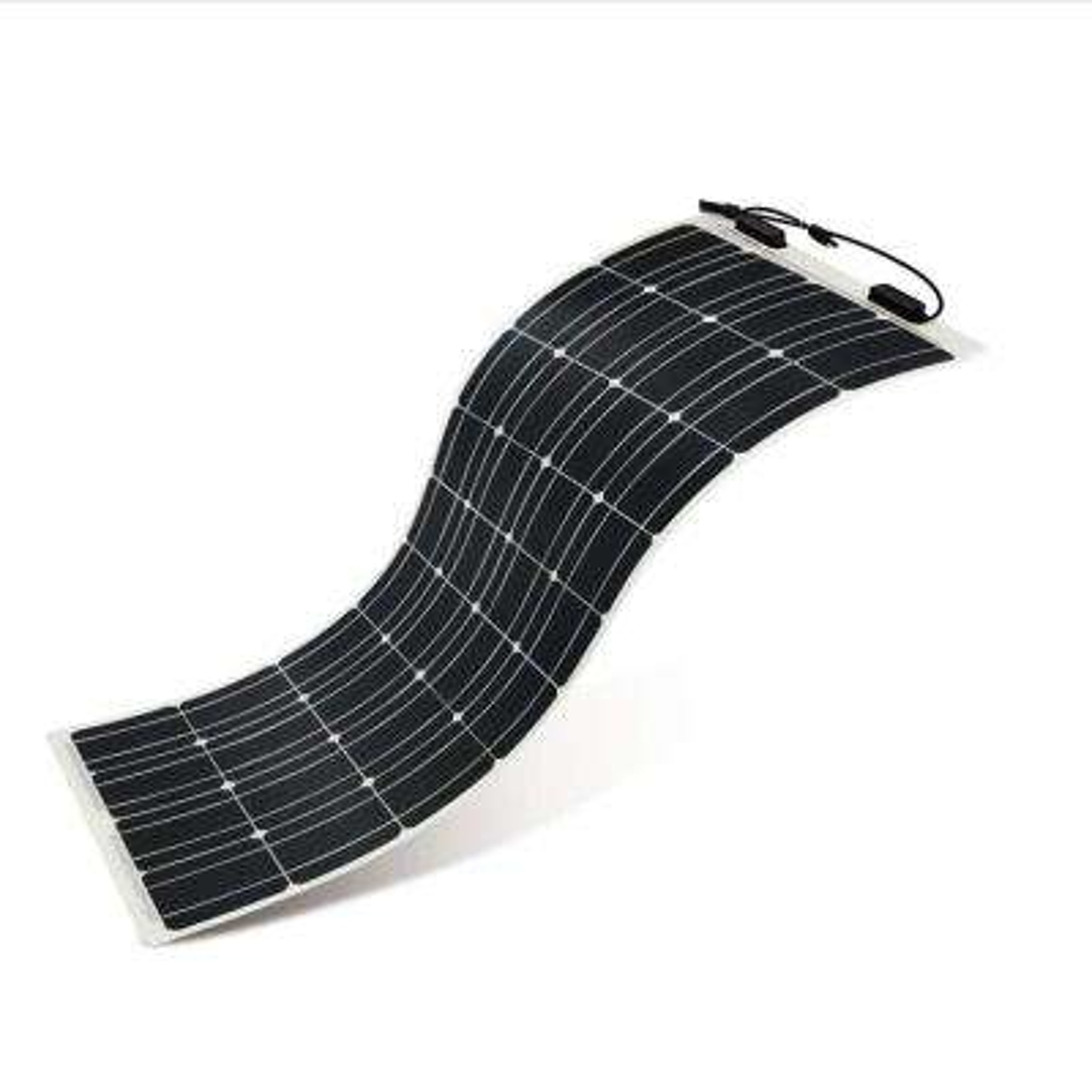 100-Watt 12-Volt Flexible Monocrystalline Solar Panel