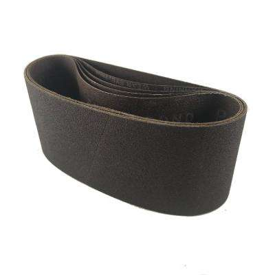 2-1/2 in. x 14 in. Premium X-Weight Aluminum Oxide 60-Grit Portable Sanding Belts (5-Pack)