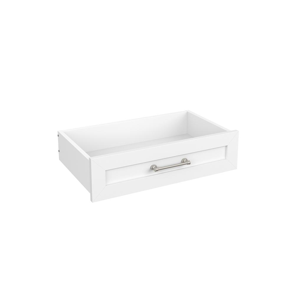 ClosetMaid Easentials 6 In. H X 24 In. W White Melamine Shaker Drawer Kit