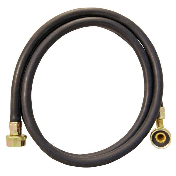 3/4 in. x 3/4 in. FHT 6 ft. Flexible PVC Washing Machine Connector with 90° Elbow