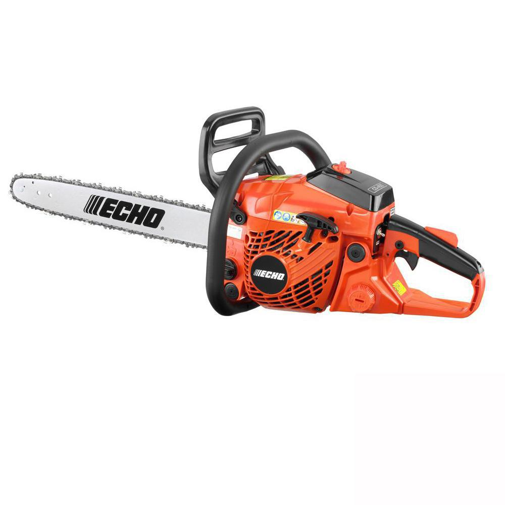 ECHO 16 in. 40.2 cc Gas 2-Stroke Cycle Chainsaw-CS-400-16 - The Home DepotThe Home Depot