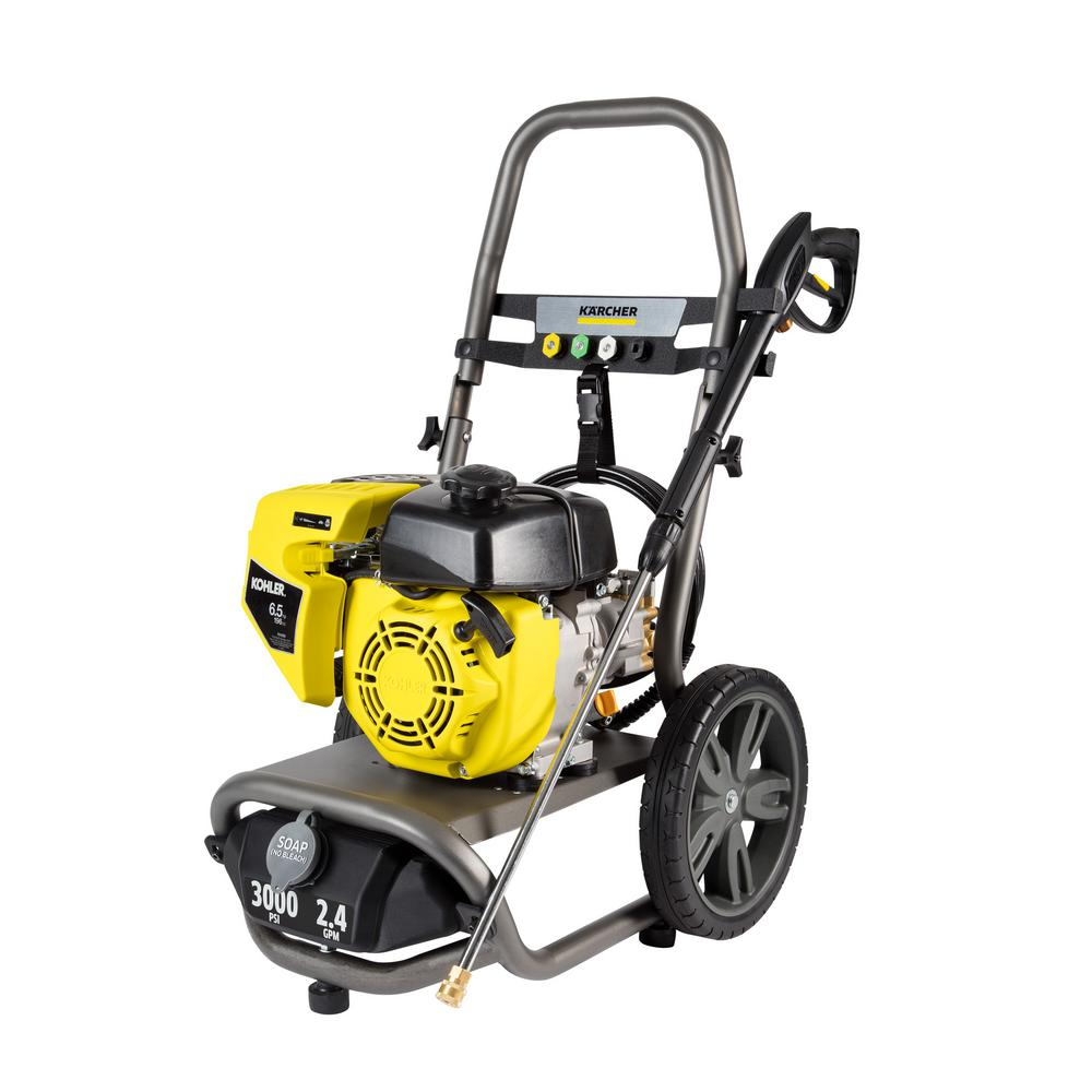 karcher pressure washer karcher g3000xk 3000 psi 2 4 gpm gas pressure washer 11070