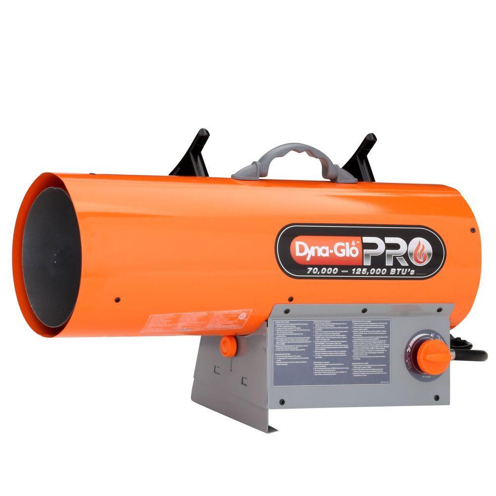 125K BTU Forced Air LP Gas Portable Heater