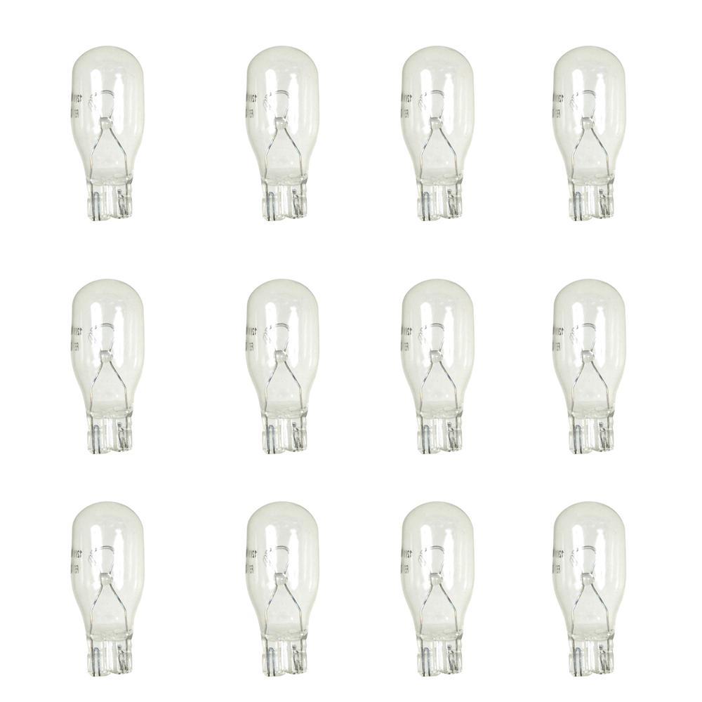 50 Watt Halogen 12V G6.35 Base Light Bulb 50W Single Ended T3.5 3 Pack Sunlite