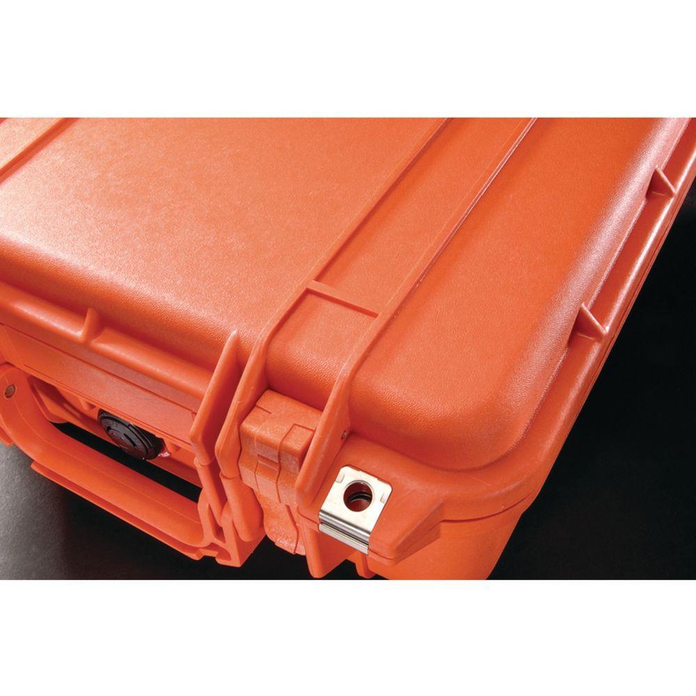 Pelican 12 inch Protector Case with Pick N Pluck Foam in Orange by Pelican
