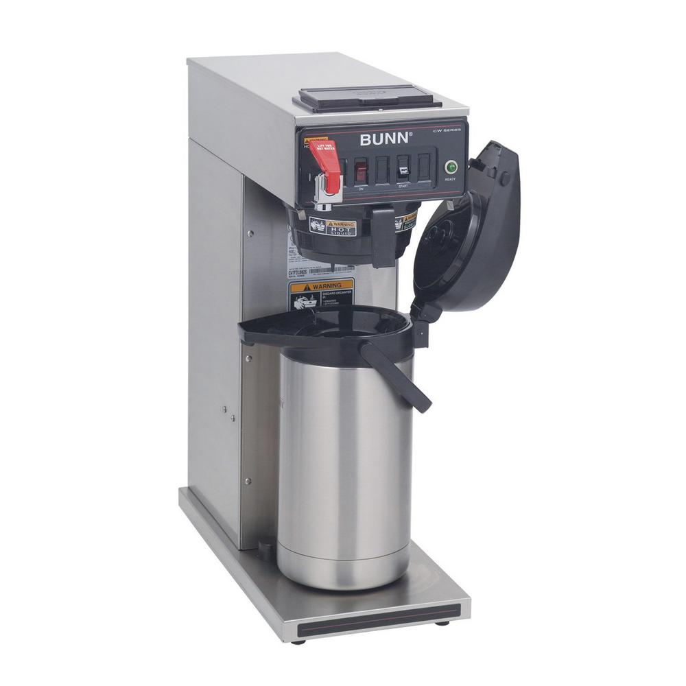 Commercial coffee machines with water hookup