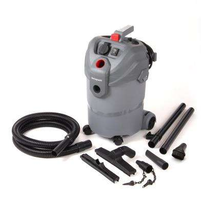 5.5-Gal. 6.0-Peak HP Wet Dry Utility Vacuum with Blower Kit and 120-Volt Socket for Dust Collection