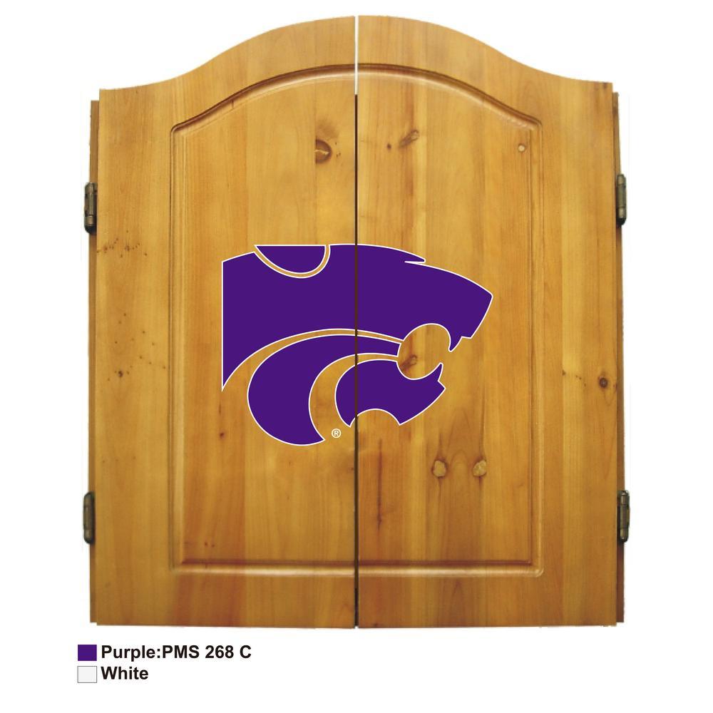 Kansas State University Dart Cabinet