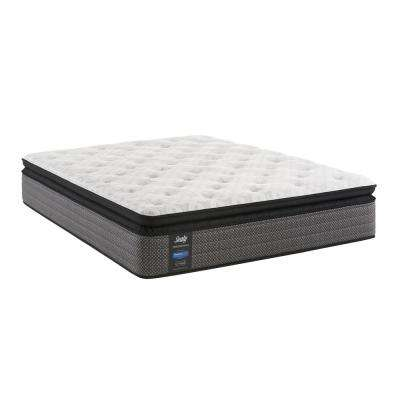 queen cushion firm euro pillow top mattress