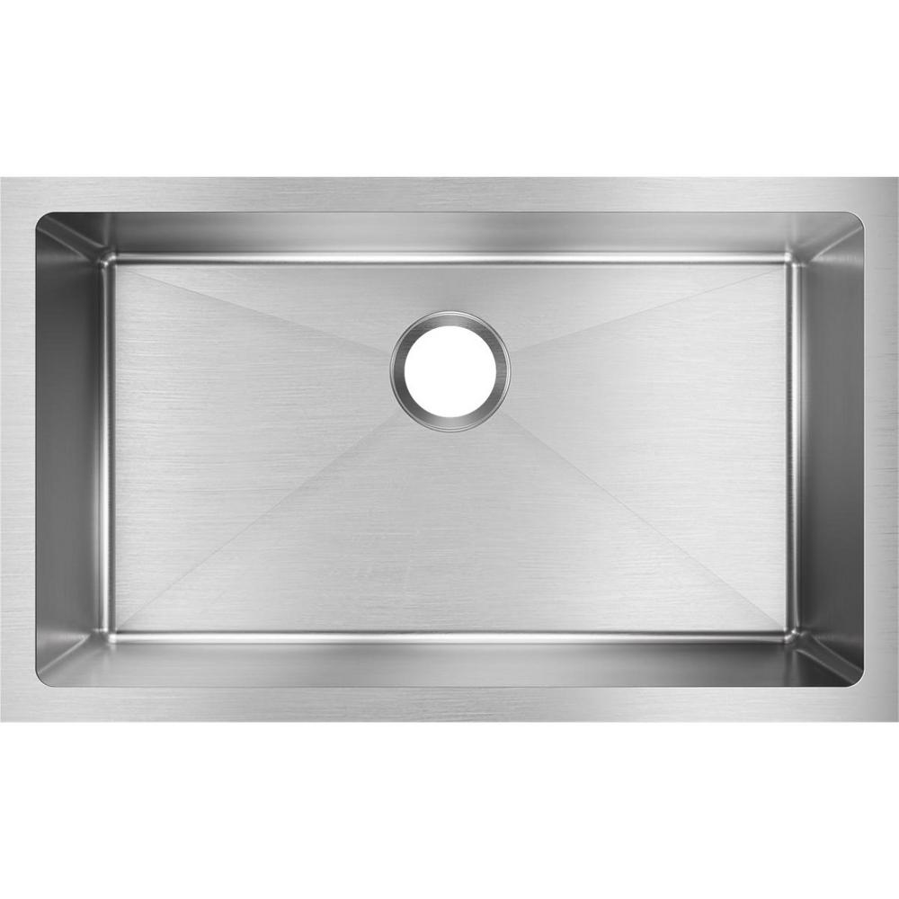Elkay Crosstown Undermount Stainless Steel 31 in. Single Bowl ... on ultimate refrigerator, ultimate bedroom, ultimate closet, ultimate pantry, ultimate kitchen design, ultimate toilet, ultimate painting, ultimate living room, ultimate outdoor kitchens, ultimate bathroom, ultimate portable camp kitchen, ultimate kitchen island, ultimate computer, ultimate kitchen range, ultimate bathtub, ultimate cabinets, ultimate kitchen appliances, ultimate kitchen storage, ultimate basement, ultimate food,