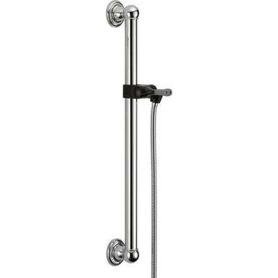 24 in. Adjustable Grab Bar Assembly in Chrome
