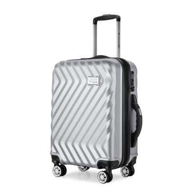 Luggage Tech Monaco Collection 20 in. Smart Luggage - Silver