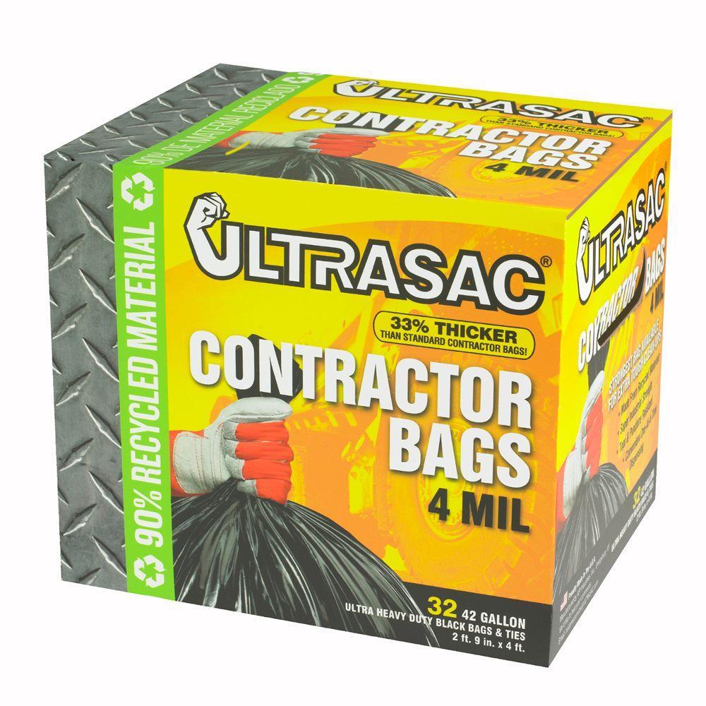 Ultrasac 42 Gal. Contractor Bag (32 Count)
