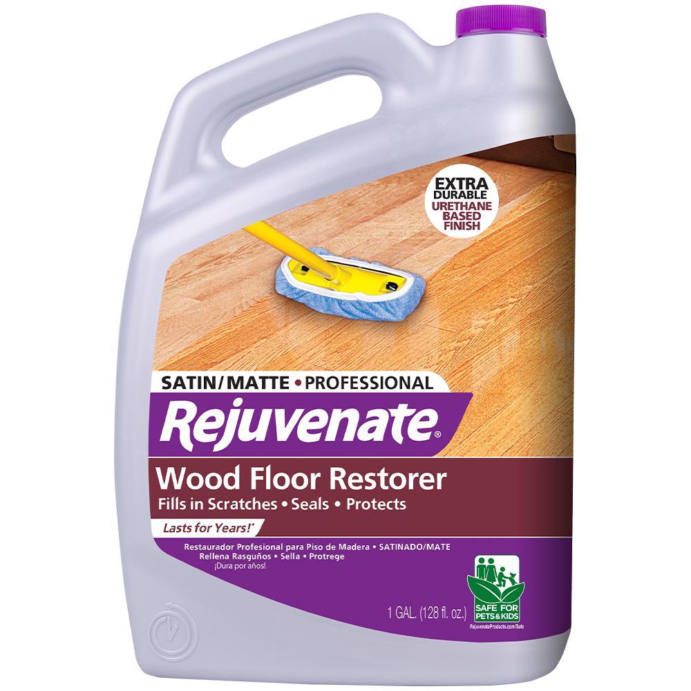 Rejuvenate 128 oz. Professional Satin Finish Wood Floor Restorer