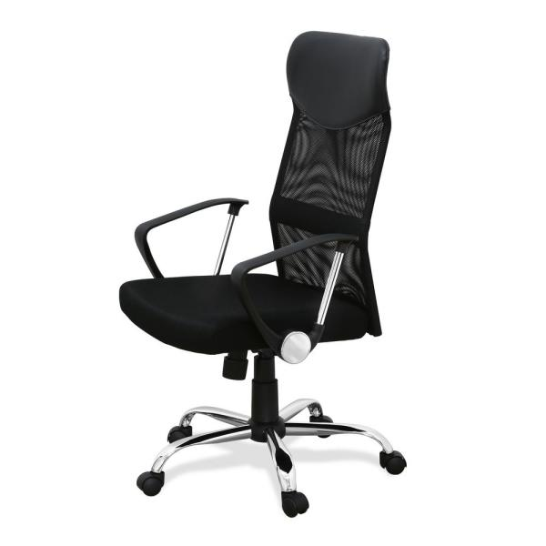 Furinno Hidup Black High Back Office Chair WA-935F-2