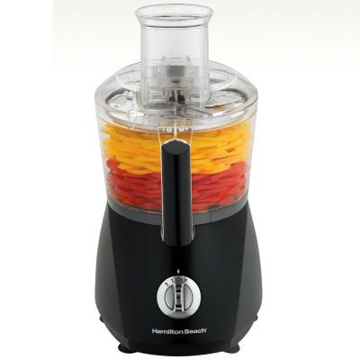 Chef Prep 10-Cup 3-Speed Black Food Processor