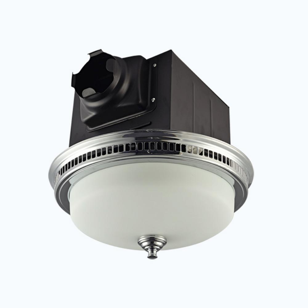 Delta Breez Signature G2 Series 110 Cfm Ceiling Exhaust Bath Fan Wiring With Light And Nightlight Decorative Chrome Plated