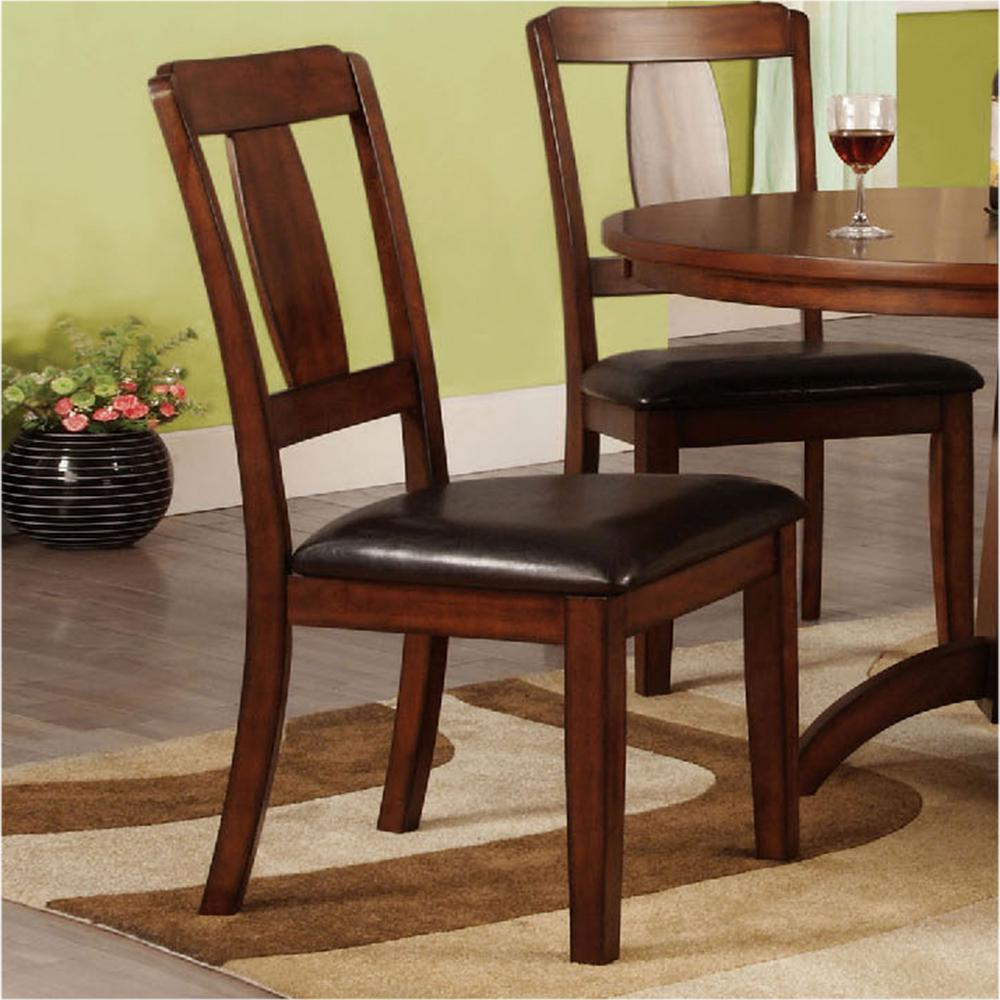 dark oak dining chairs venetian worldwide englewood antique oak dining chair 6448