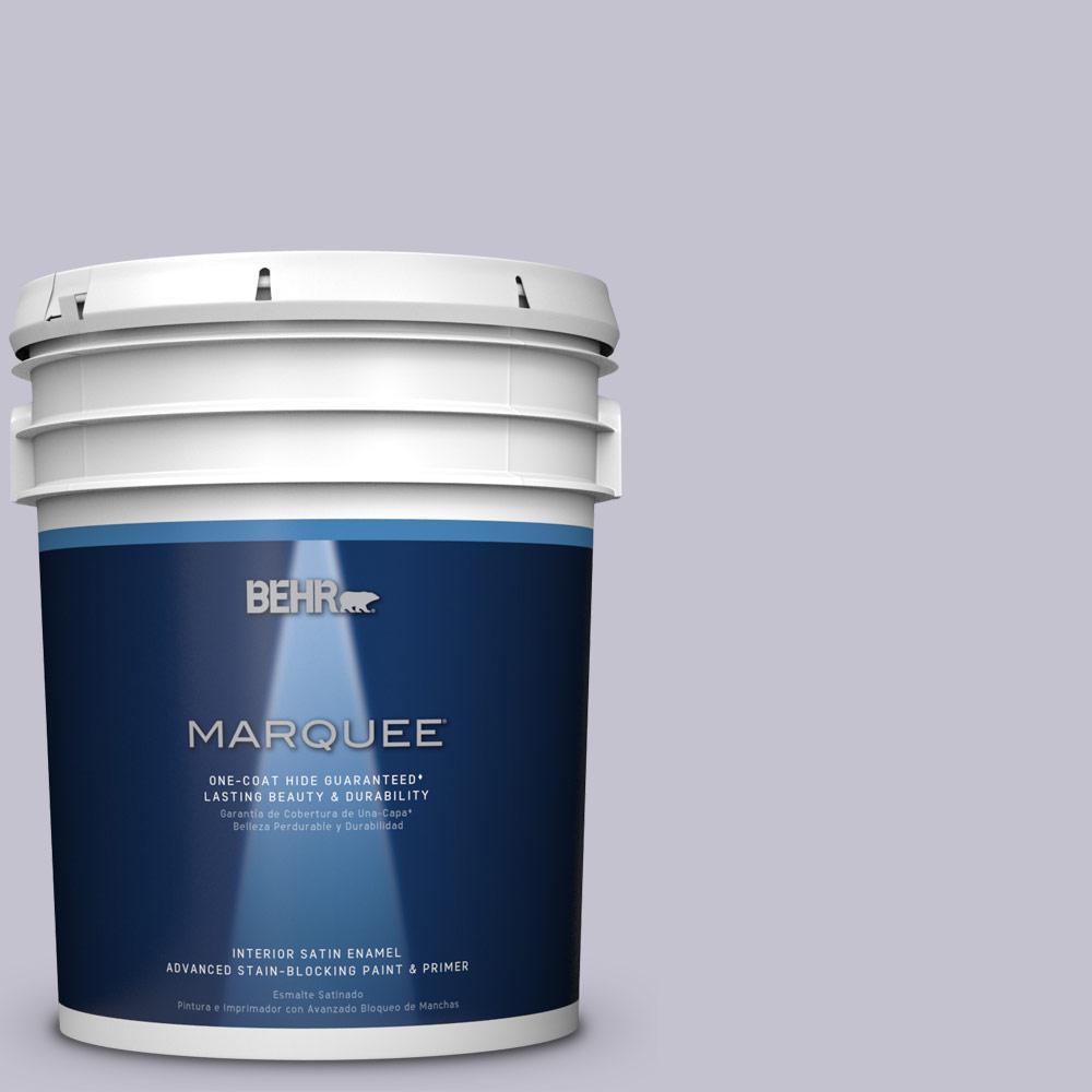 5 gal. #MQ5-40 Satire One-Coat Hide Satin Enamel Interior Paint