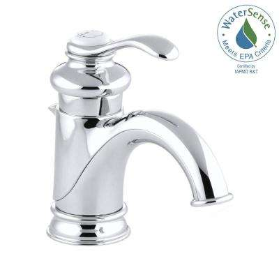 Fairfax Single Hole Single Handle Low-Arc Bathroom Vessel Sink Faucet with Lever Handle in Polished Chrome