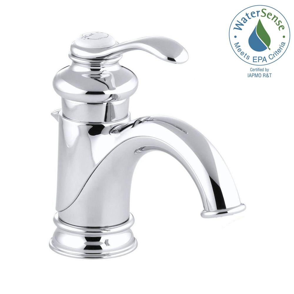KOHLER Fairfax Single Hole Single Handle LowArc Bathroom Vessel - Kohler fairfax single hole bathroom faucet