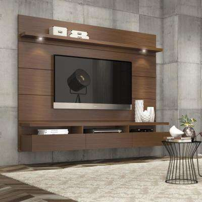 Cabrini Theater Nut Brown Entertainment Center