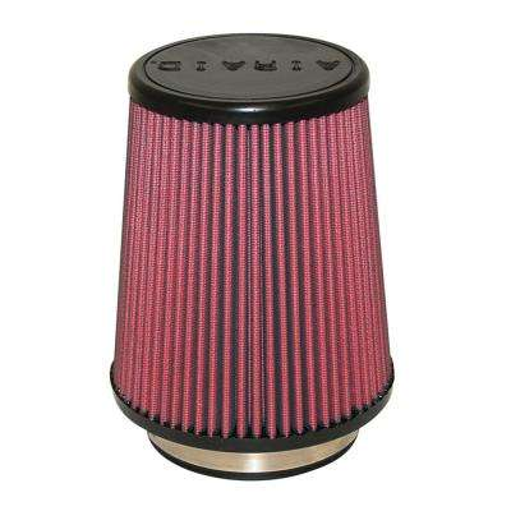 Universal Air Filter - Cone 4 x 7 x 4 5/8 x 7 w/ Short Flange