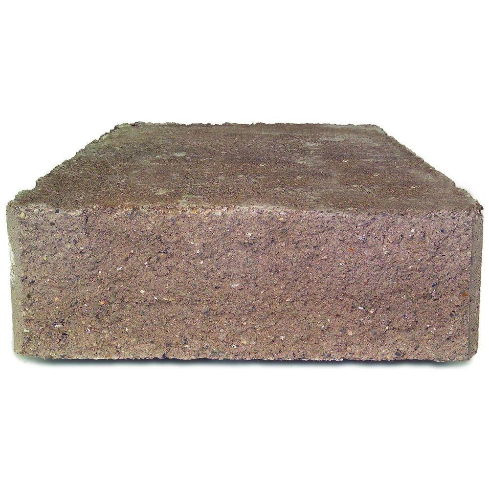 17-1/4 in. x 12 in. Tan Concrete Garden Wall Block