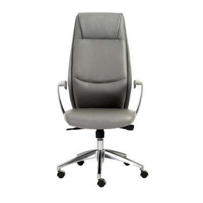 Crosby Gray High Back Office Chair
