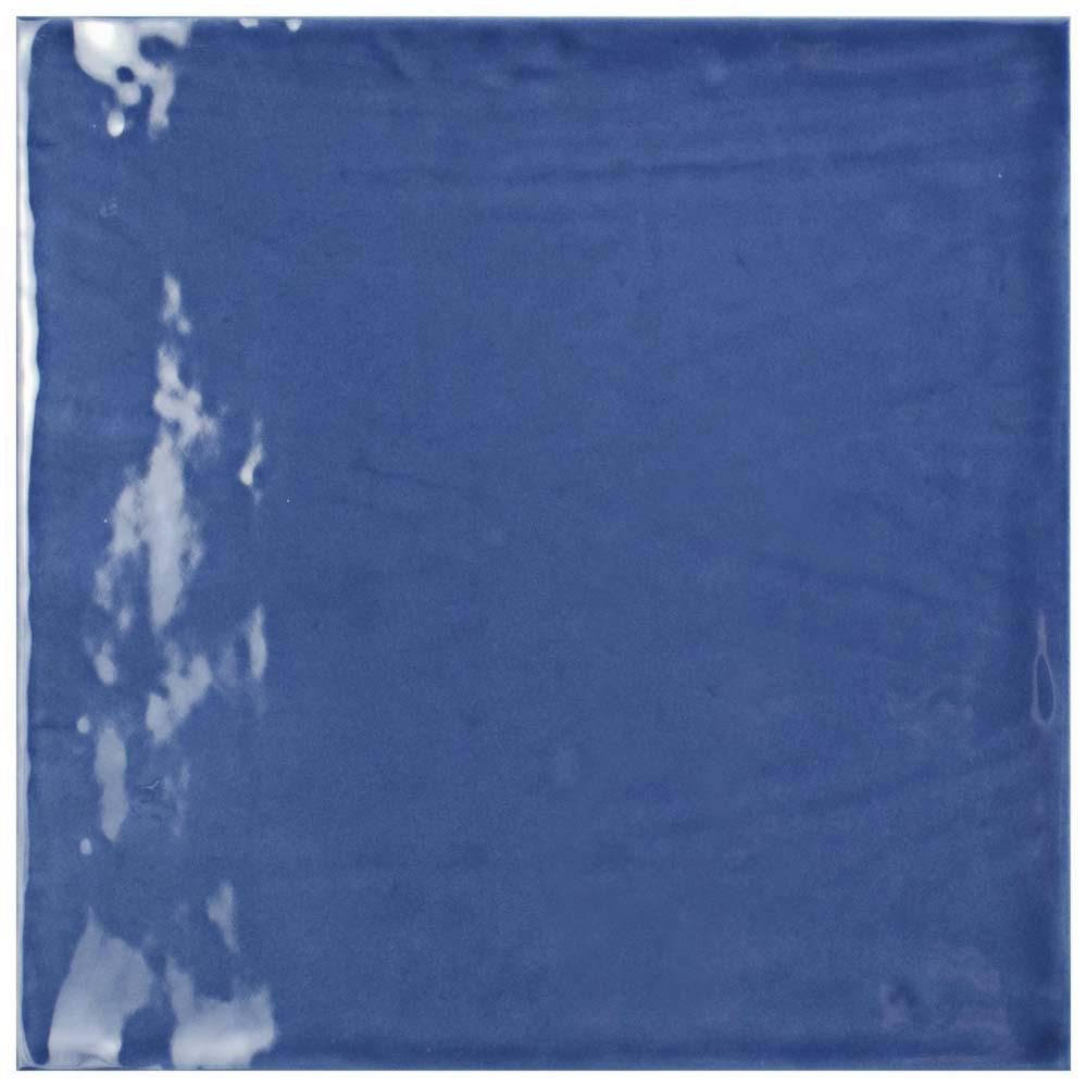 Merola Tile Bourges Giorno Azul 7-7/8 in. x 7-7/8 in. Ceramic Wall ...
