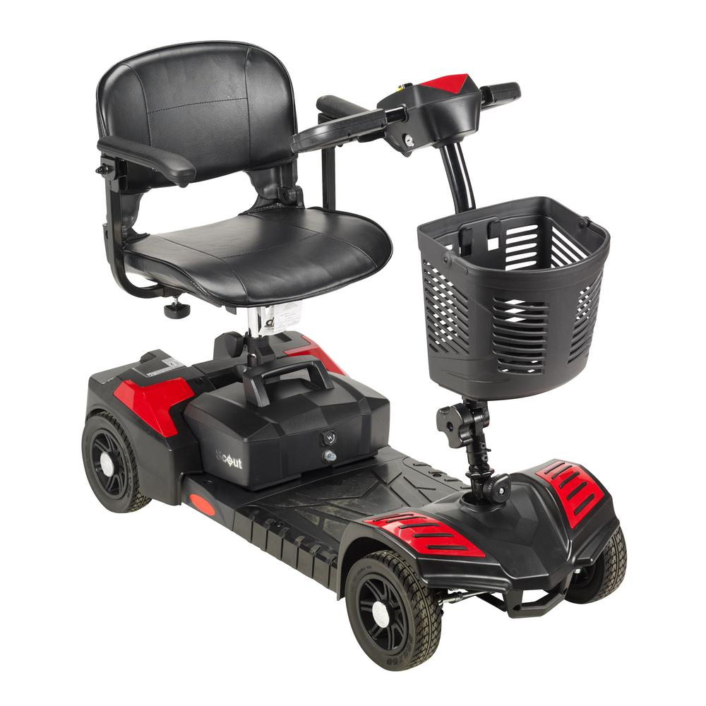 Drive Scout Compact Travel 4-Wheel Power Scooter