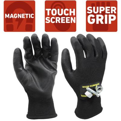 Super Grip Medium All Purpose Magnetic Gloves with Touchscreen Technology
