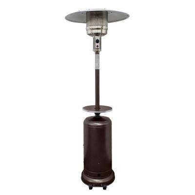 48,000 BTU Hammered Bronze Propane Patio Heater