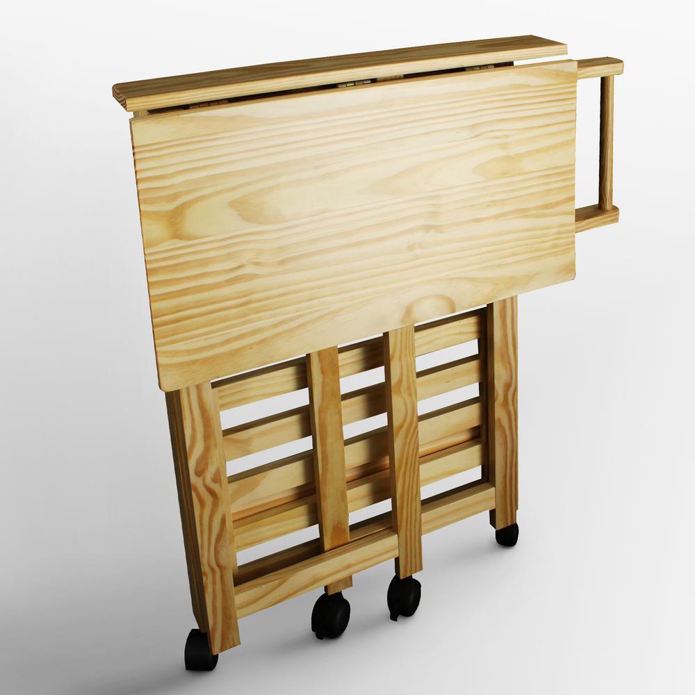 Casual Home Trek Folding Kitchen Cart 372-30 - The Home Depot