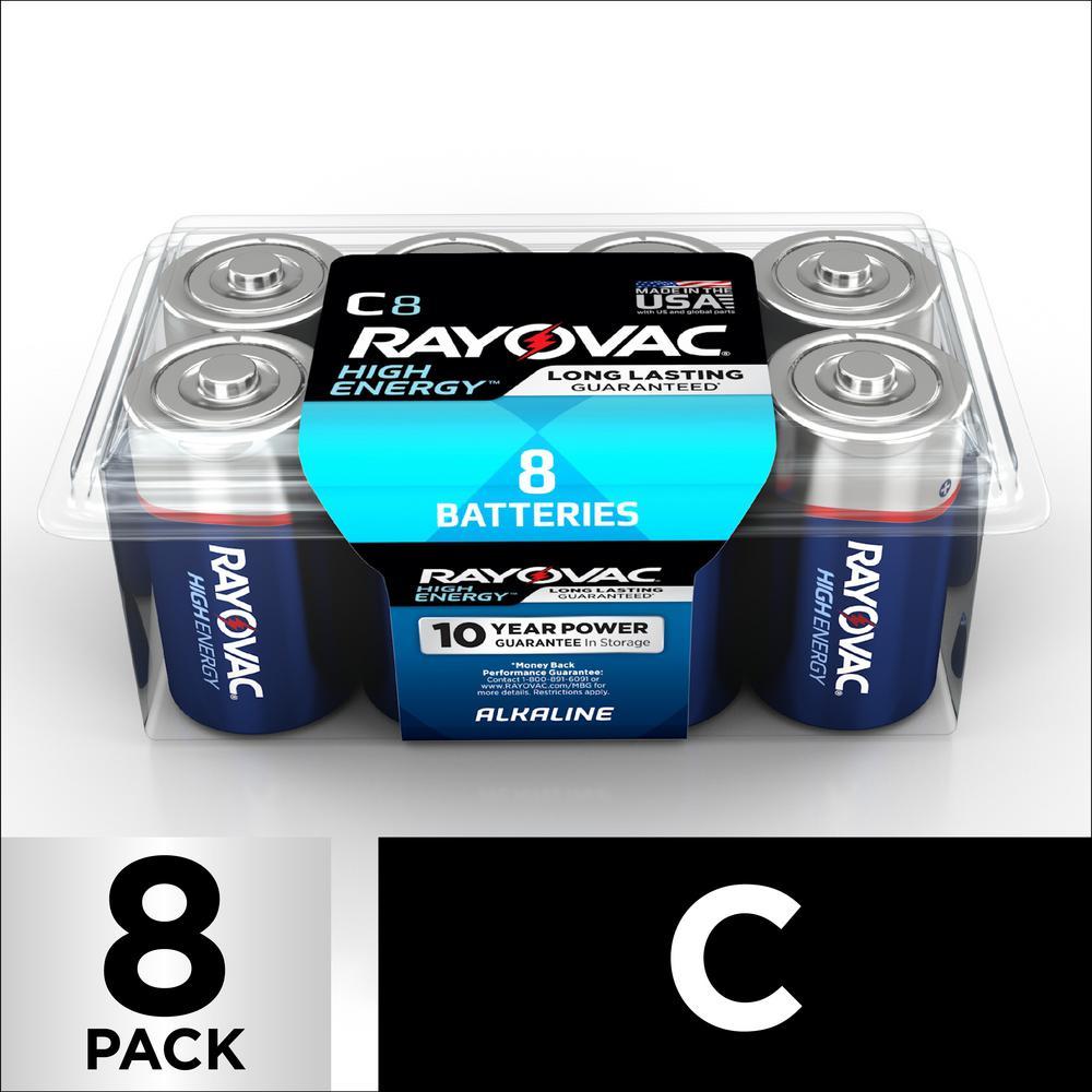 C 8 Alkaline Pack