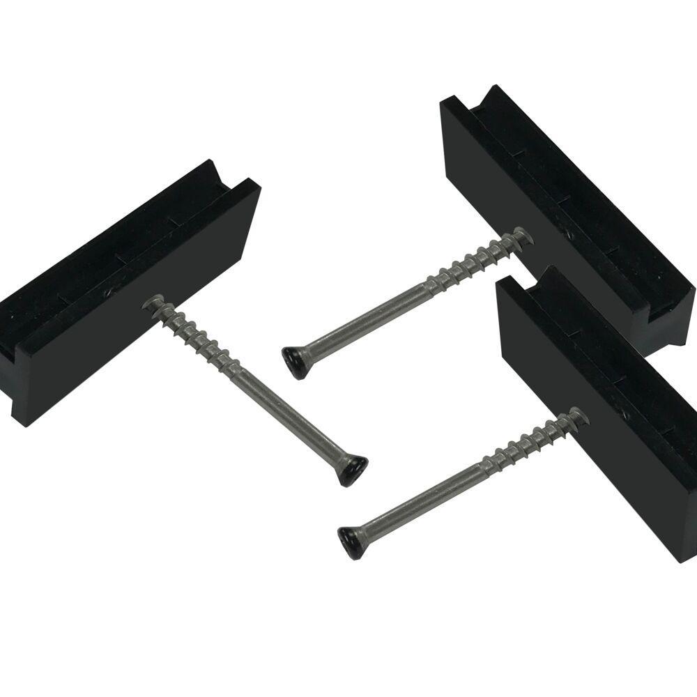 Step-Clip Deck Fastenators with Steel Screws (500 -Count)