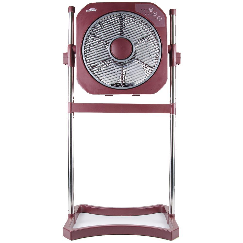Outdoor Stand Up Fans : Air innovations in speed stand fan with swirl