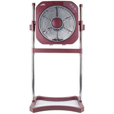 12 in. 3-Speed 3-in-1 Stand Fan with Swirl Cool Technology - Marsala