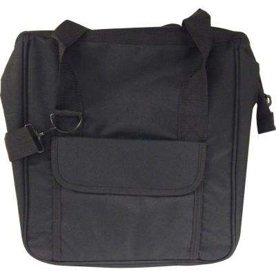 4 in. Canvas Bag, Black